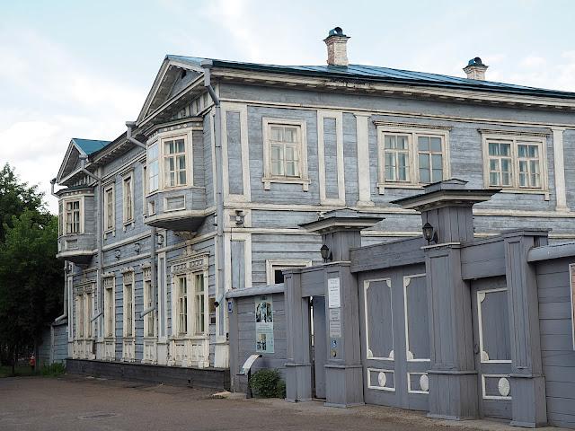 Иркутск, усадьба Волконских (Irkutsk, Volkonsky manor)