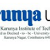 Karunya University, Coimbatore, Wanted Teaching Faculty