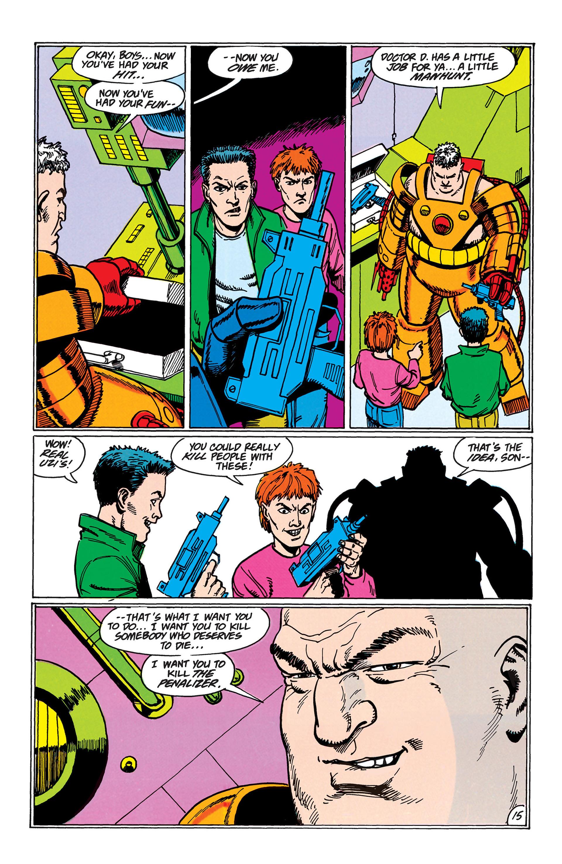 Read online Animal Man (1988) comic -  Issue #45 - 16