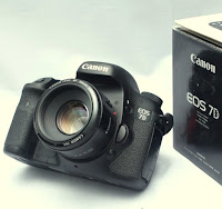 Jual Canon EOS 7D + Fix 50mm - 2nd DSLR