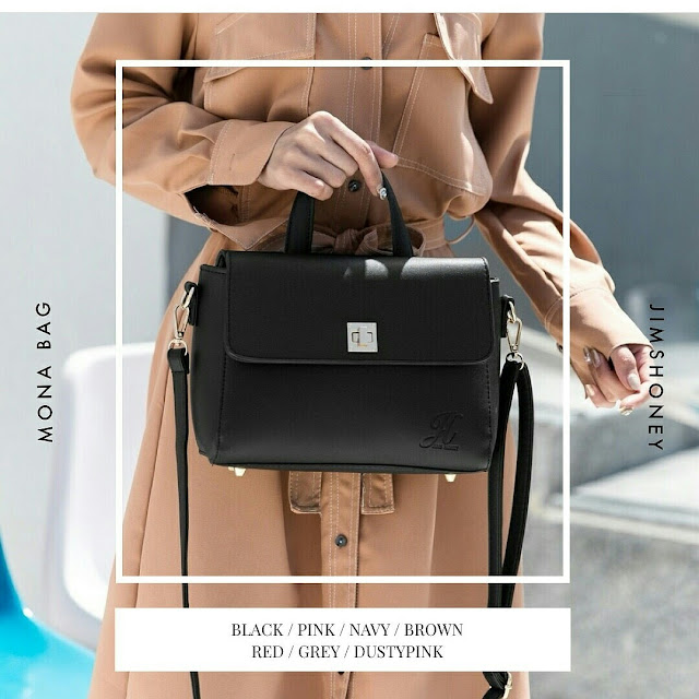 Jims Honey Mona Bag Black