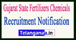 Gujarat State Fertilizers Chemicals GSFC Recruitment Notification 2017