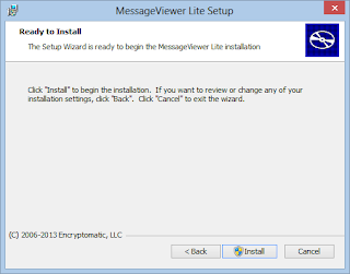 Install MessageViewer Lite .eml .msg file viewer.