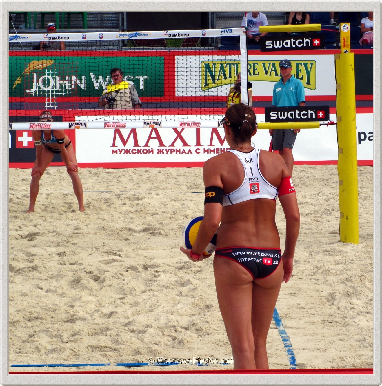 Swiss Beach Volleyball Player Simone Kuhn