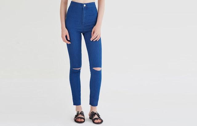 Yüksek bel pantolonlar
