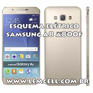 Esquema Elétrico Celular Smartphone Samsung A8 A800 F Manual de Serviço  Service Manual schematic Diagram Cell Phone Smartphone Samsung A8 A800 F