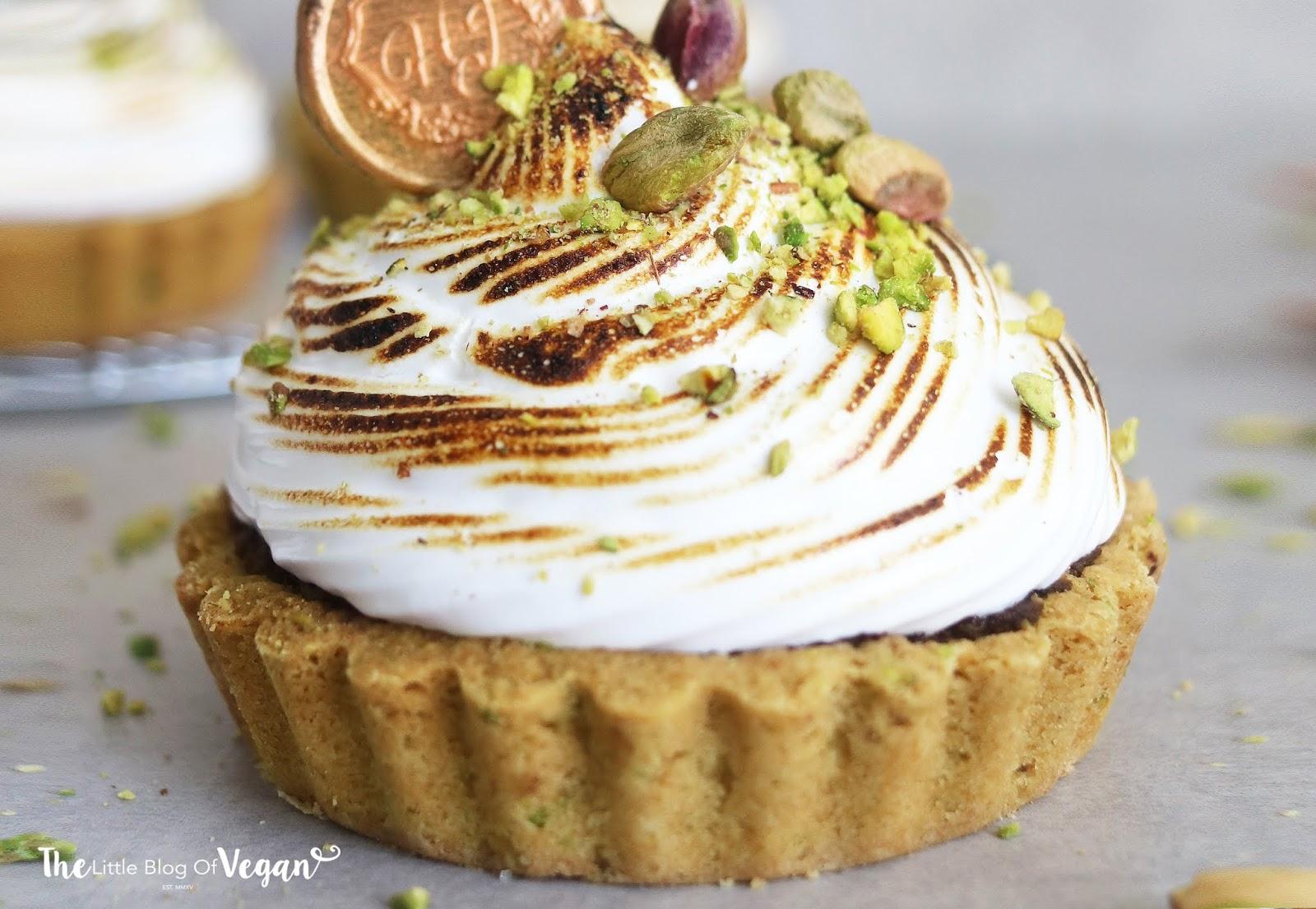 Easy pistachio meringue tart recipe | Ft DeDietrich