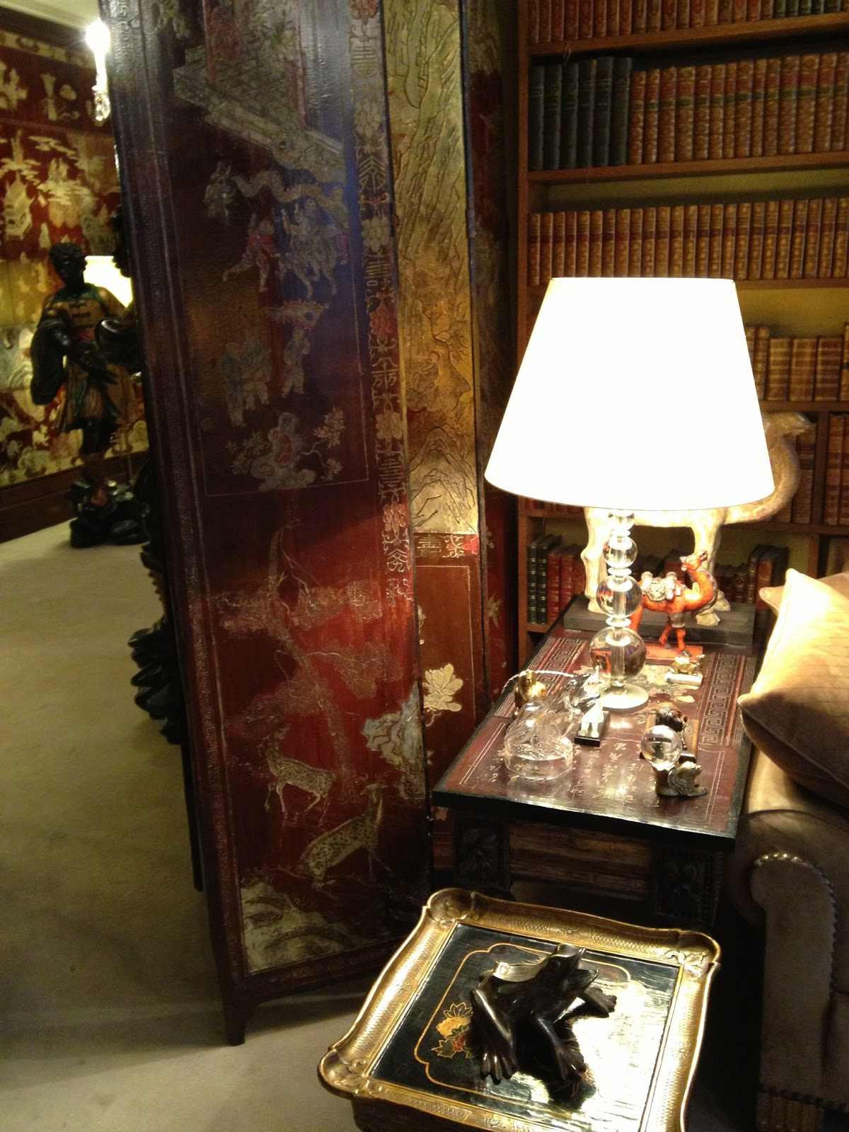 Inside Mlle Gabrielle Coco Chanel's Apartment, 31 Rue