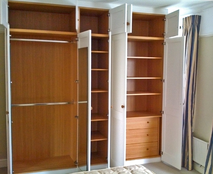 Wardrobe Partition: Home Of Creative Minds