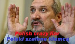Сумасшедший польский лжец из Министерства обороны
