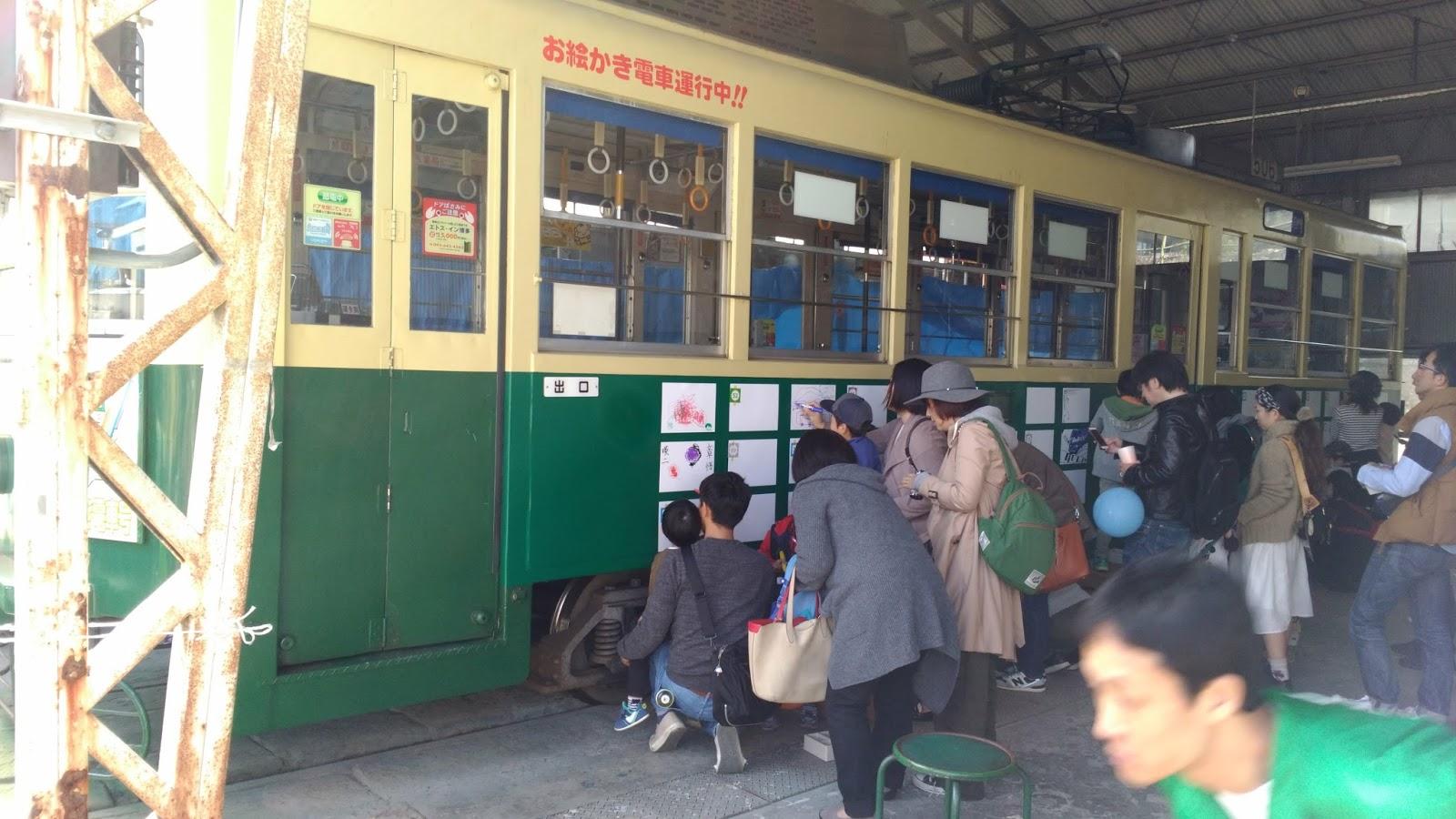 2017年11月12日に長崎市大橋町の長崎電気軌道車庫であった2017路面電車まつりに参加してきました!子供達におすすめです!