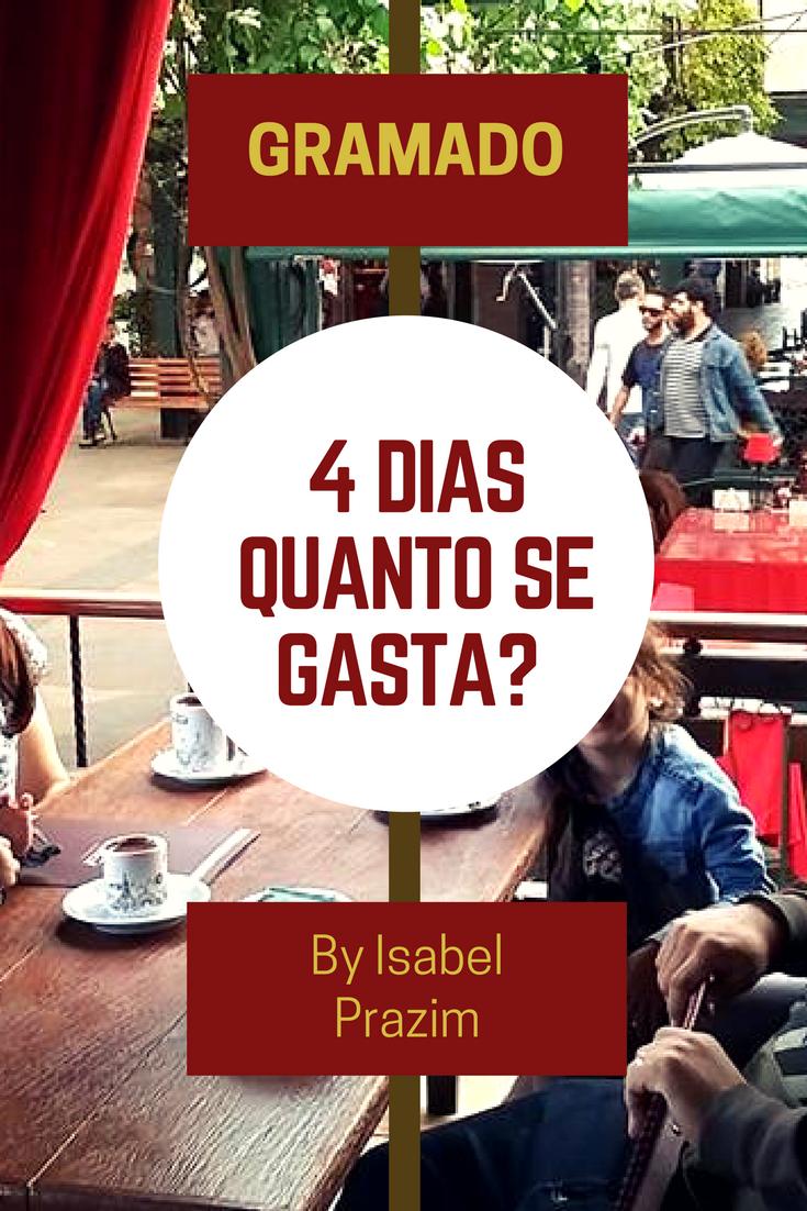 quanto se gasta em 4 dias em Gramado