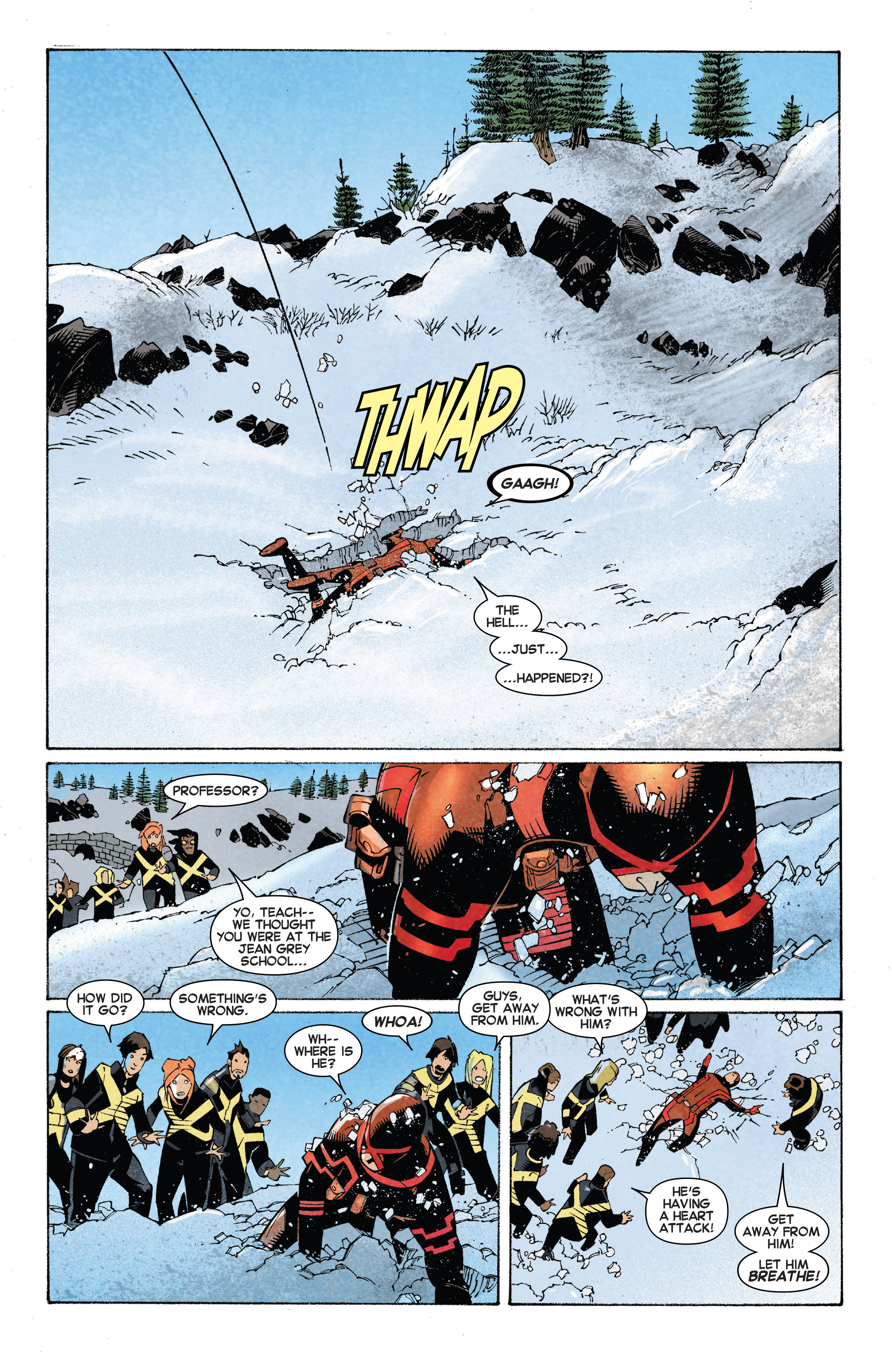 Read online Uncanny X-Men (2013) comic -  Issue #27 - 13