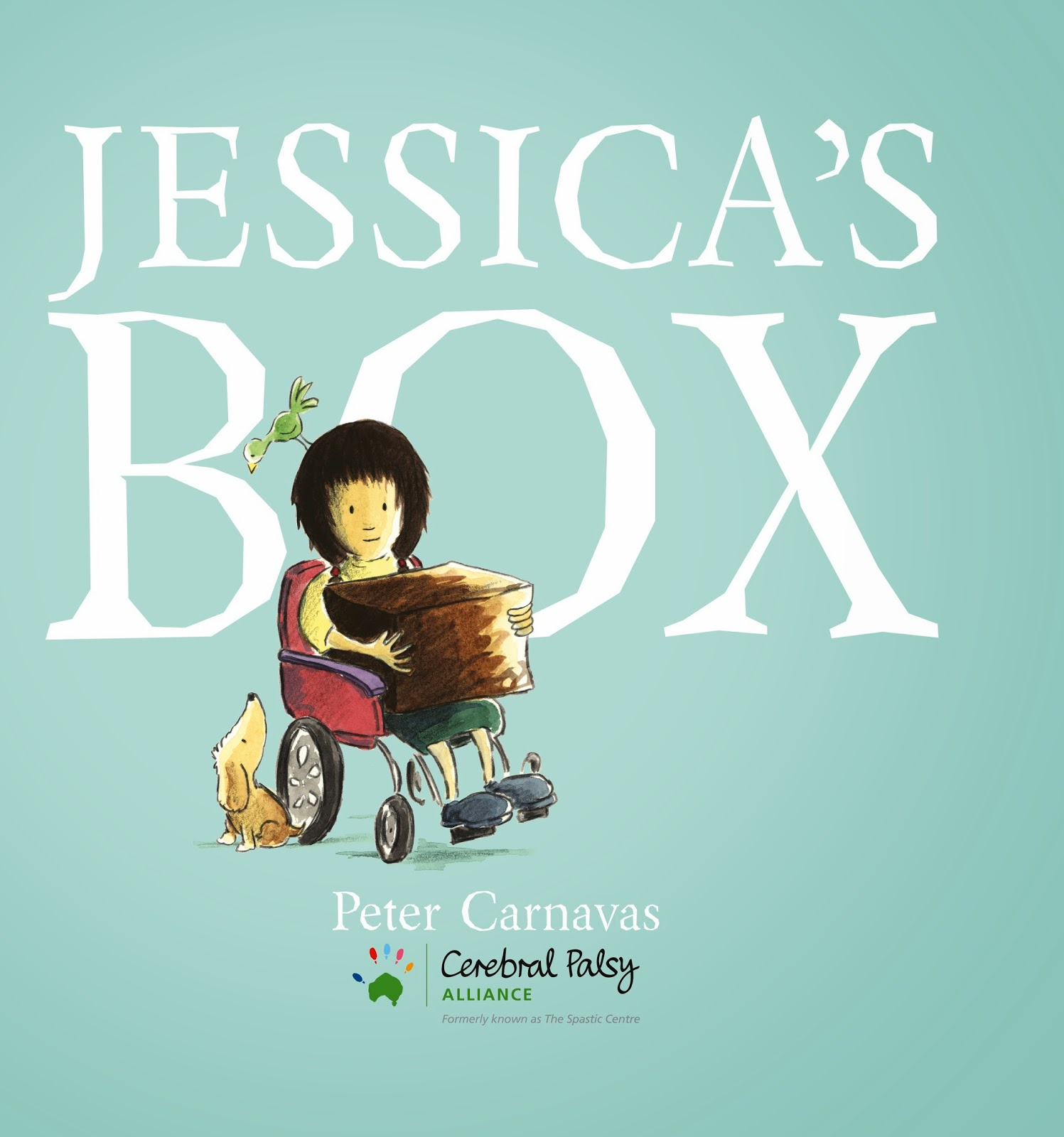 Kids' Book Review: Review: Jessica's Box - Cerebral Palsy Alliance