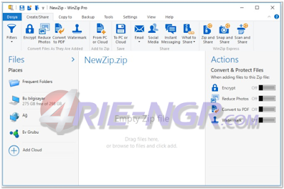 WinZip Pro 21.5 Build 12480 Final Full Version