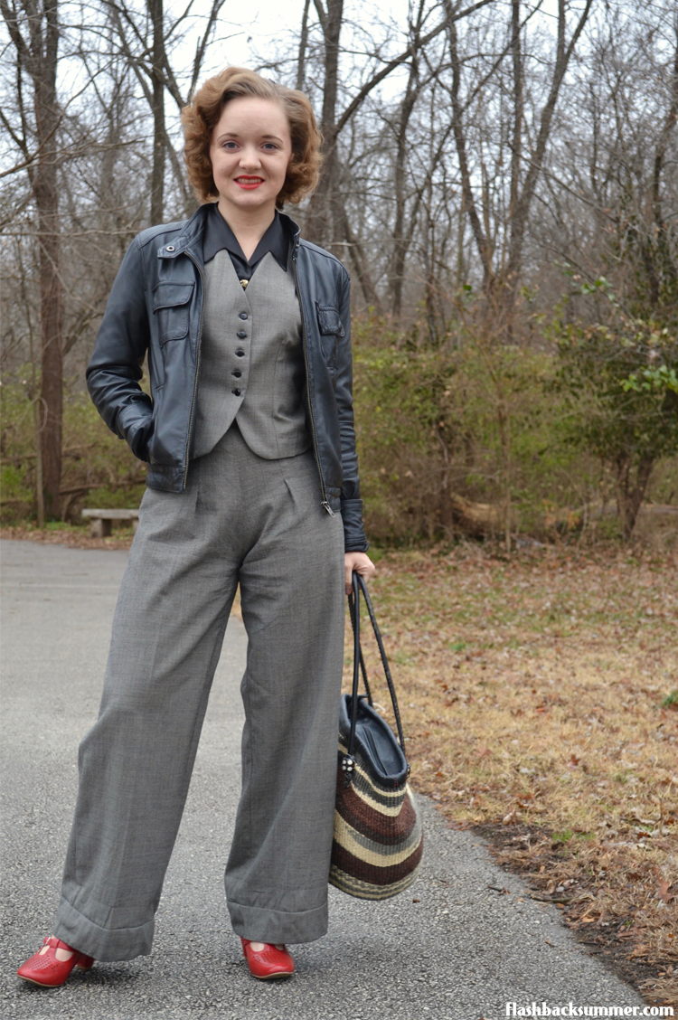Flashback Summer: Vest & Trousers - 1930s suit