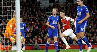 نتيجة وملخص واهداف مباراة ارسنال وليستر سيتي اليوم 22-10-2018 Arsenal vs Leicester City Highlights