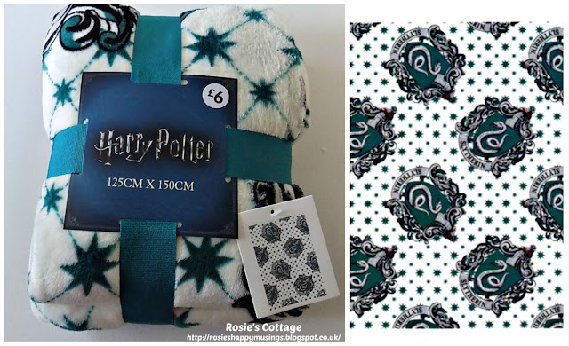 Harry Potter Slytherin Throw from Primark