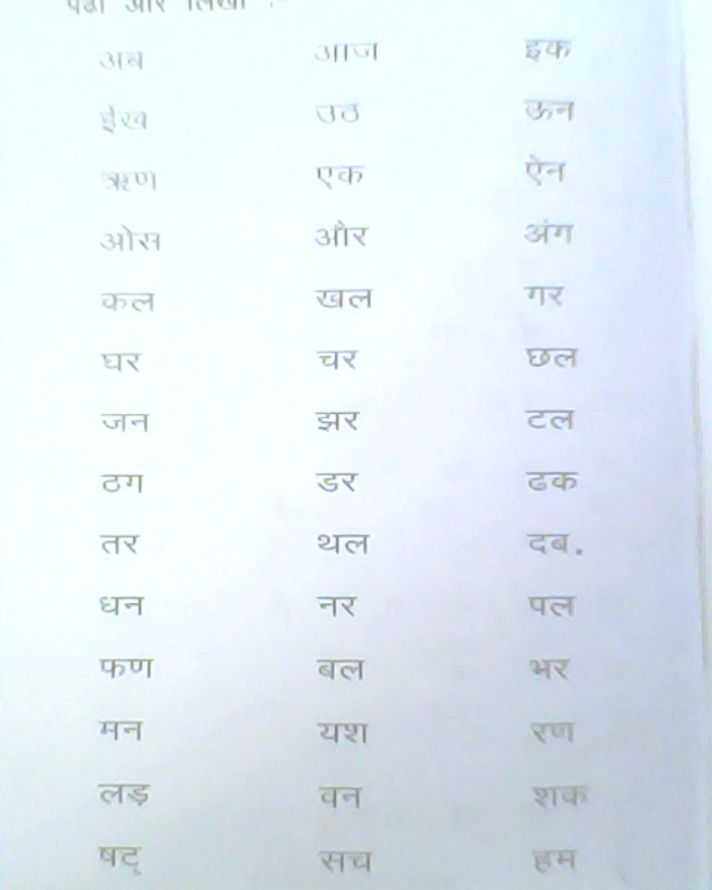 Learn Hindi With Vel Day Four