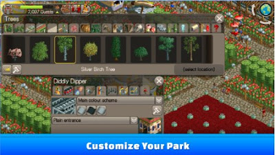 Roller Coaster Tycoon Classic Mod Apk + Data Full Version