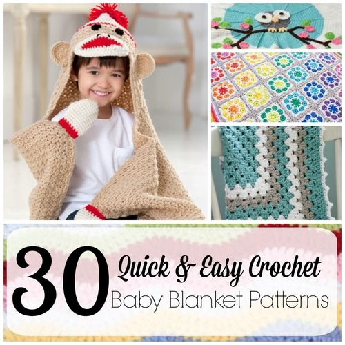 Quick and Easy Crochet Baby Blanket Patterns
