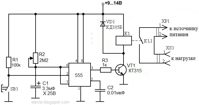 Схема для электронного счетчика фото 77
