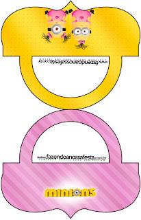 Esta es una etiqueta para bolsas de golosinas.