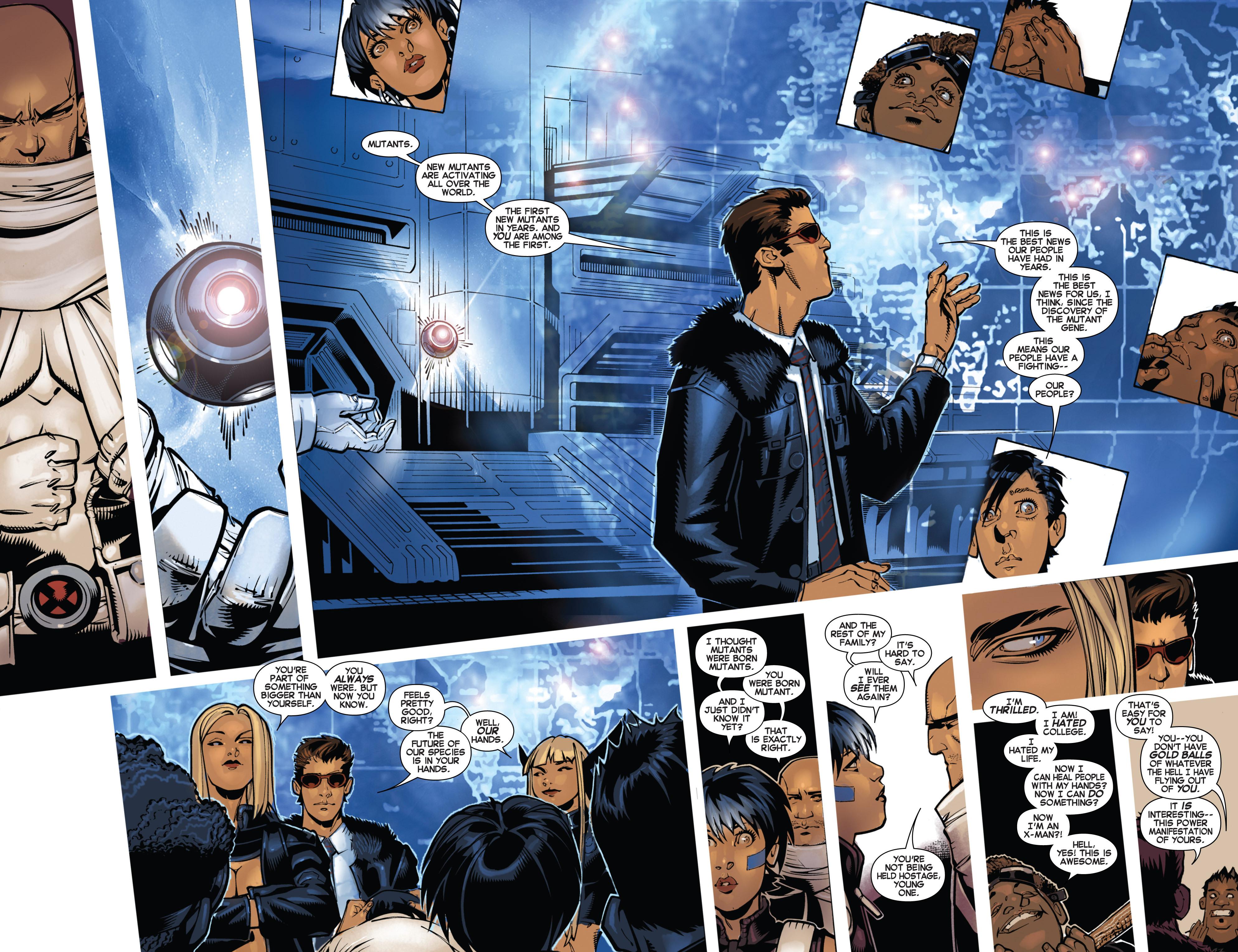Read online Uncanny X-Men (2013) comic -  Issue # _TPB 1 - Revolution - 35