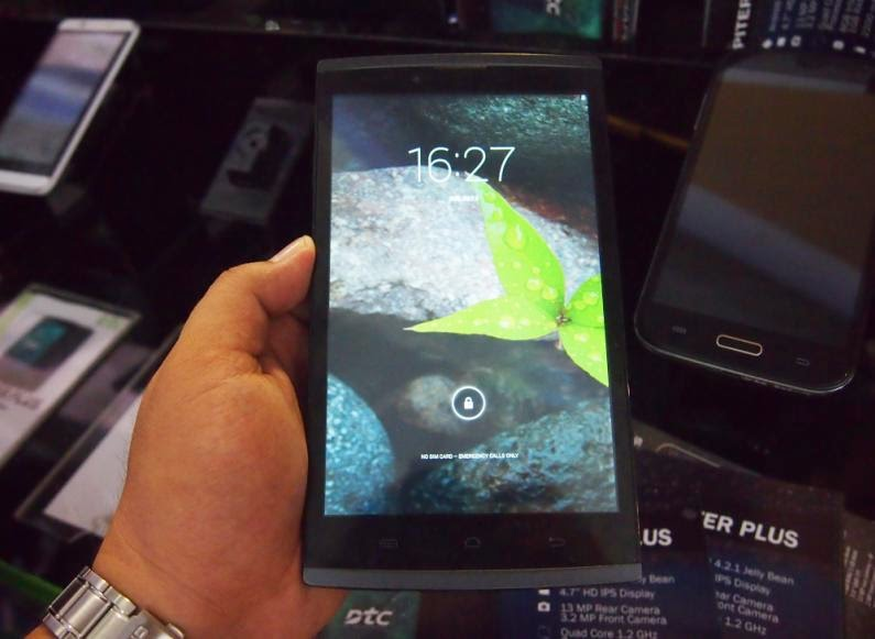 DTC Mobile NX1 Tab Hands-on; 7-inch HD Quad Core KitKat Phablet