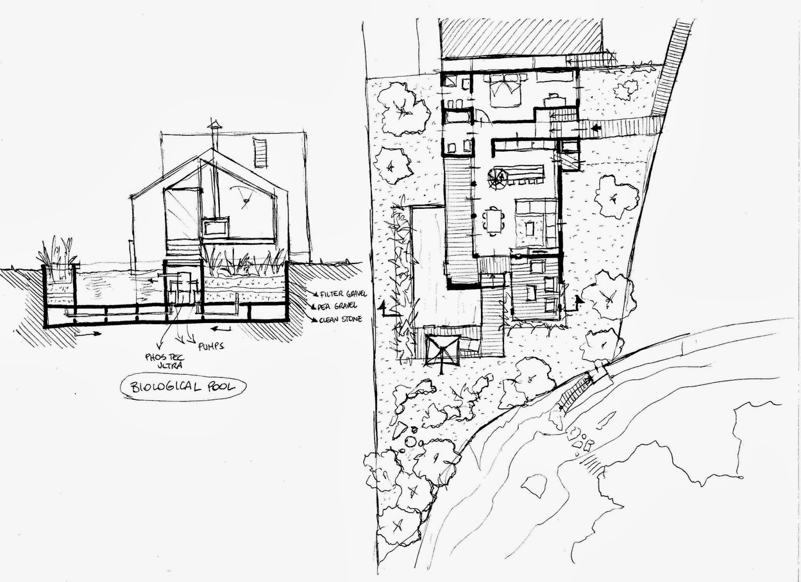 Thinking Architecture Through The Sketch: EXTENSION HOUSE