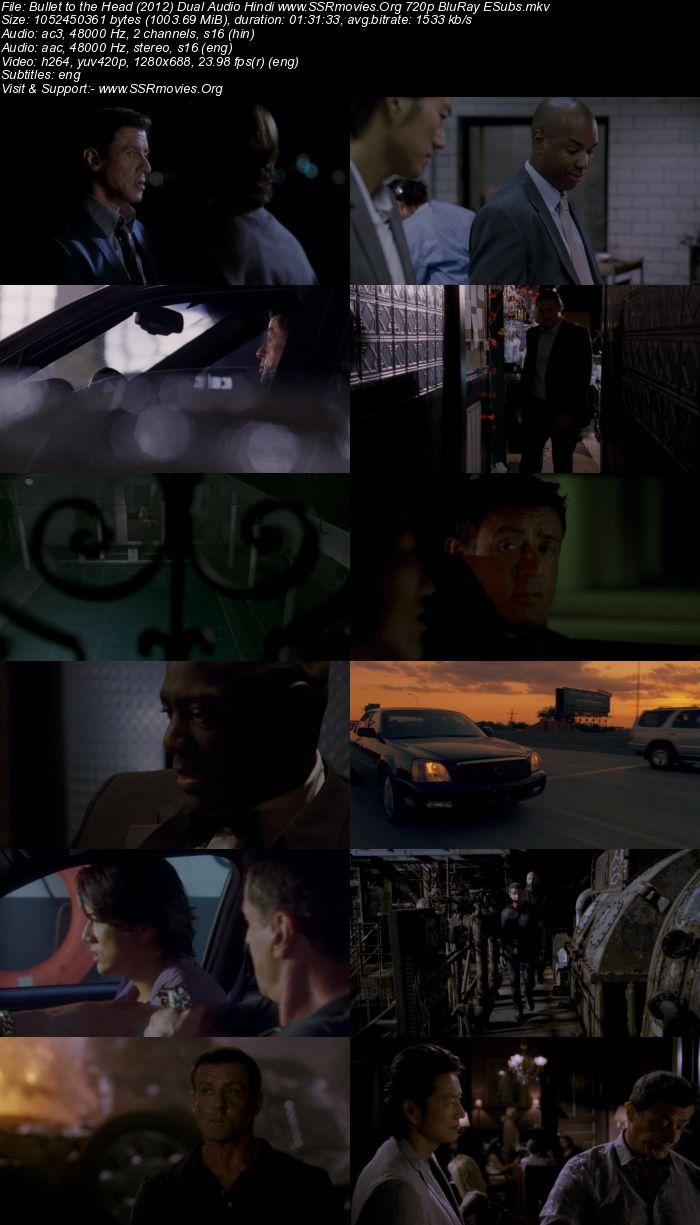 Bullet to the Head (2012) Dual Audio Hindi 720p BluRay