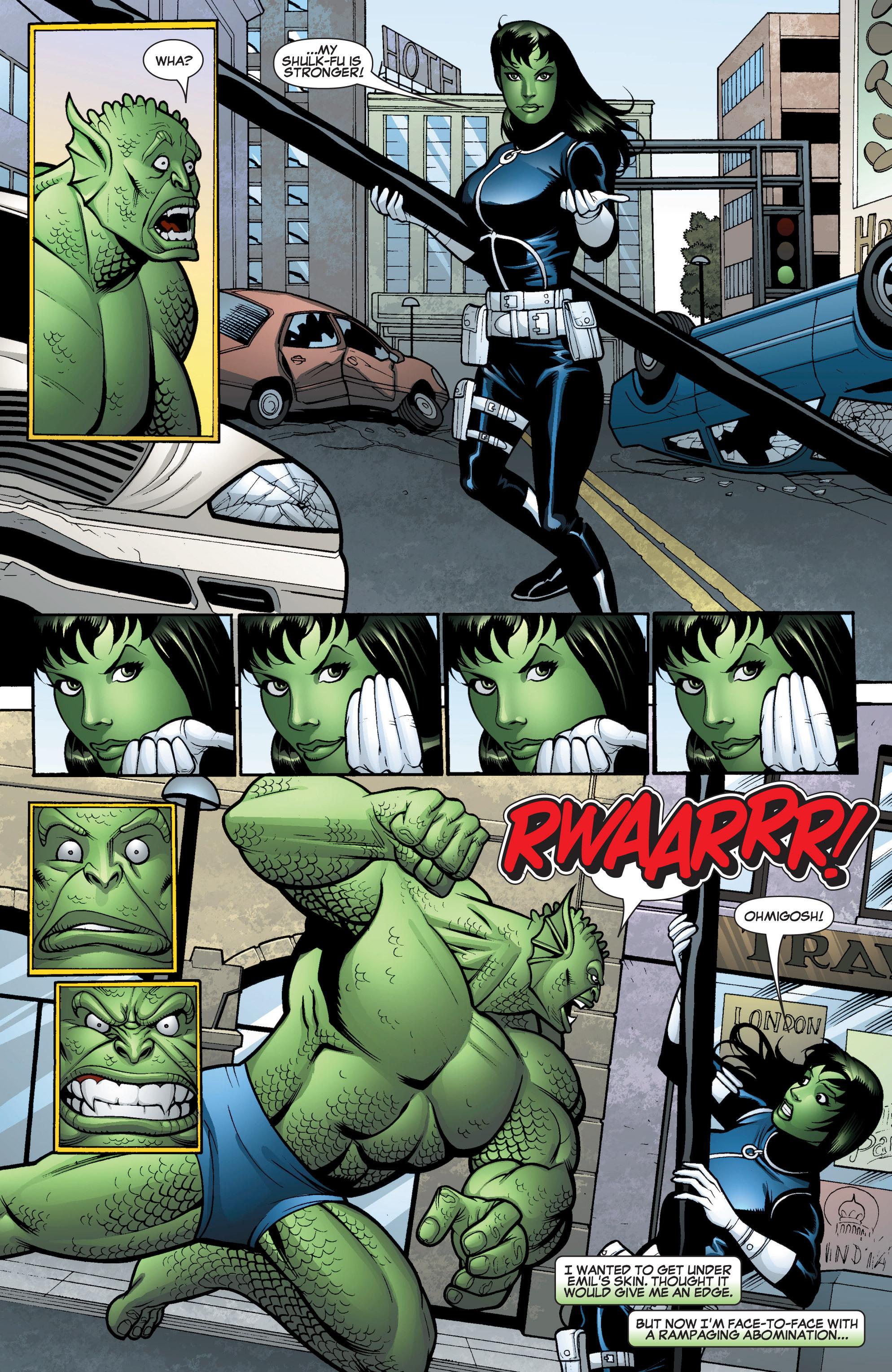 Read online She-Hulk (2005) comic -  Issue #15 - 18