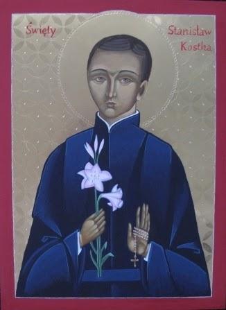 Pracownia Ikonograficzna: Święty Stanisław Kostka