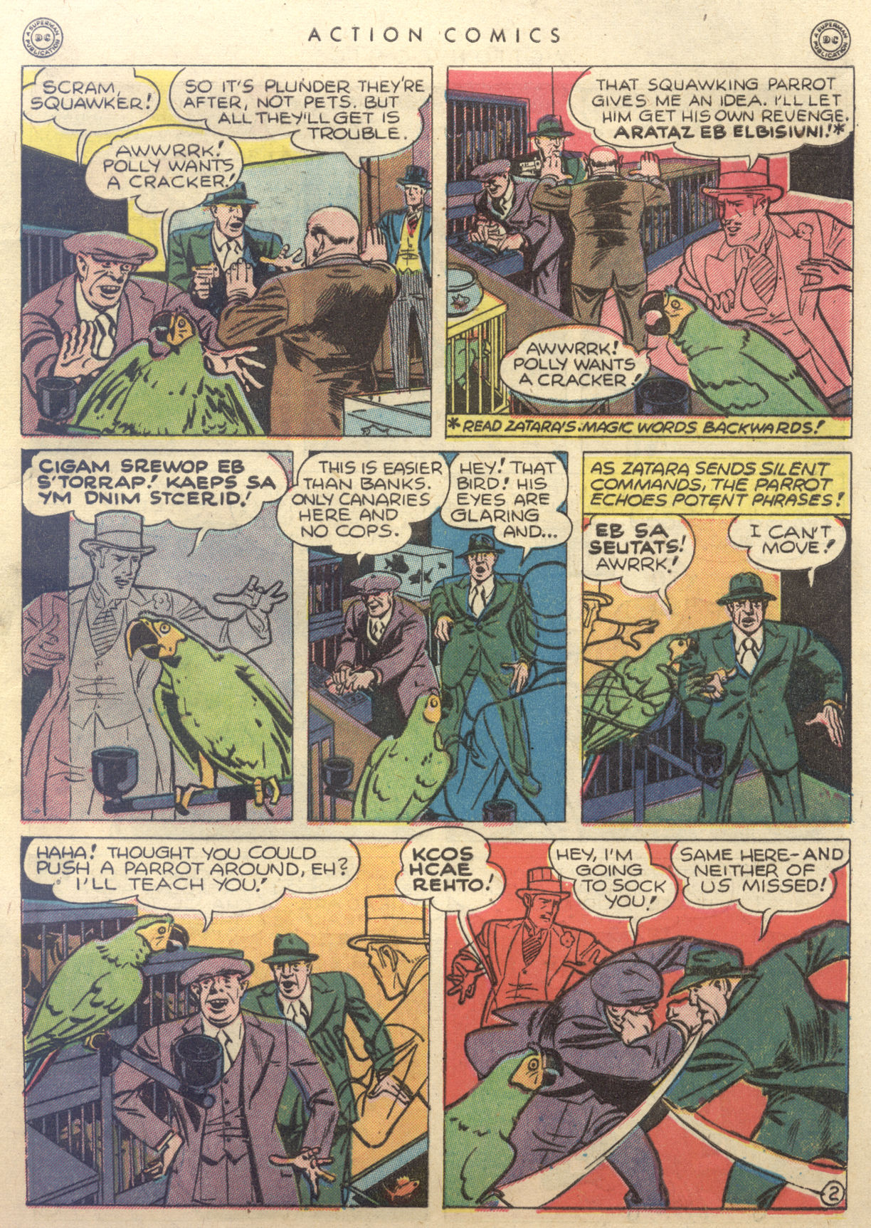 Read online Action Comics (1938) comic -  Issue #88 - 43
