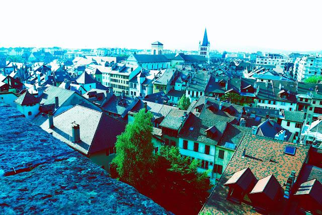 La ville d´ ANNECY merci : Fotografía