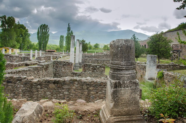 Heraclea Lyncestis - archaeological site near Bitola, Macedonia