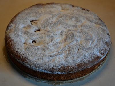 bezglutenowe ciasto migdałowe z owocami