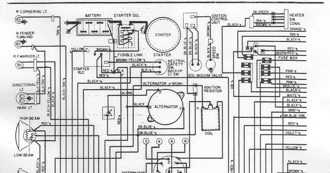 1972 Chrysler Newport Electrical Wiring Diagram | All