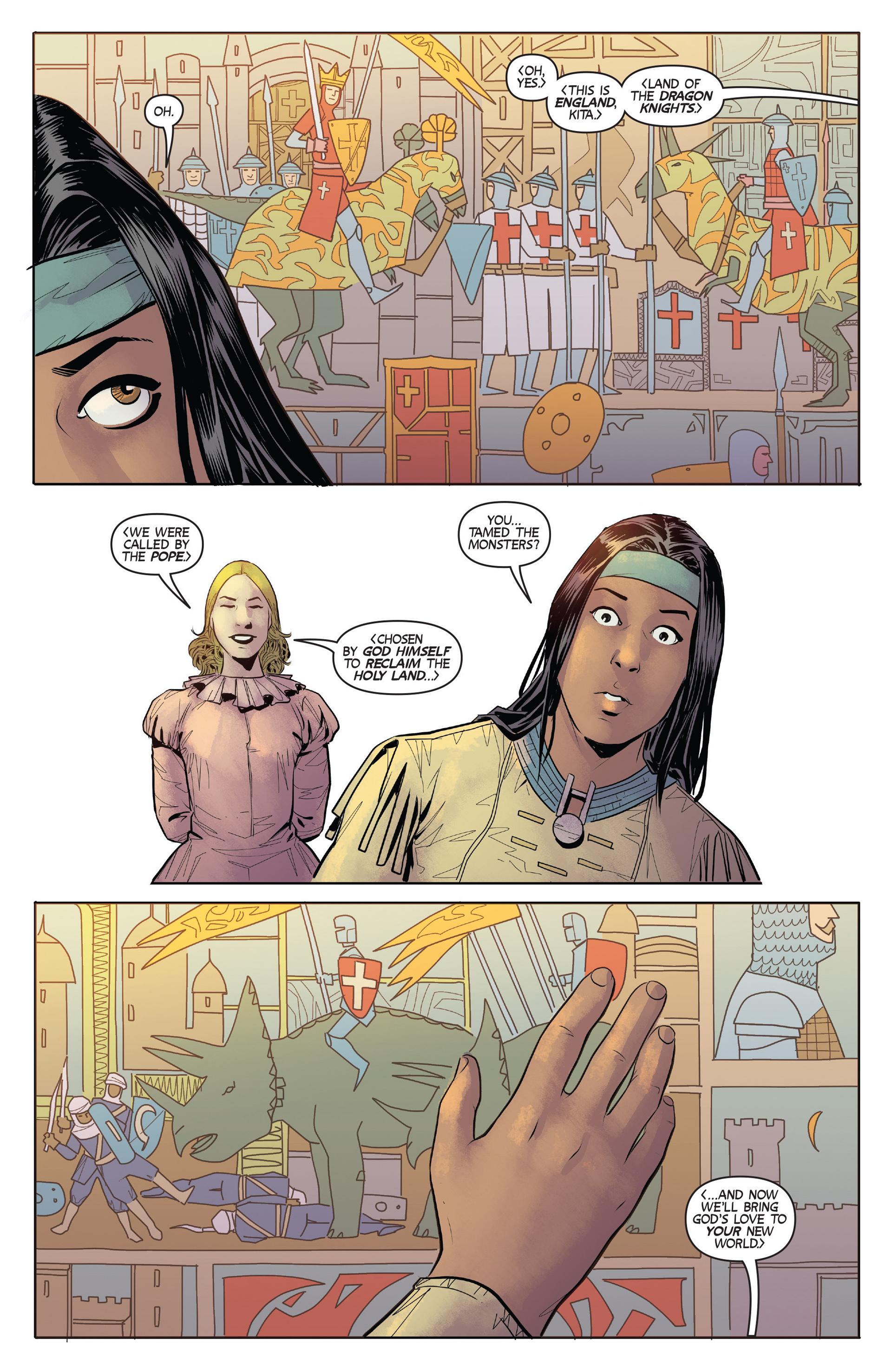 Read online Turok: Dinosaur Hunter (2014) comic -  Issue #2 - 12