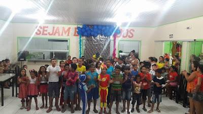Instituto Feijó realiza dia das crianças para a comunidade carente