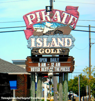 Pirate Island Adventure Golf in Avalon New Jersey