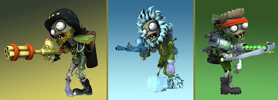 Plants vs Zombies Garden Warfare (customize General - Snowtrooper - Commando)