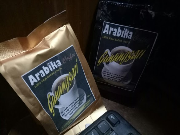 Jual Kopi Bubuk Murni Arabika Cofee Gunungsari