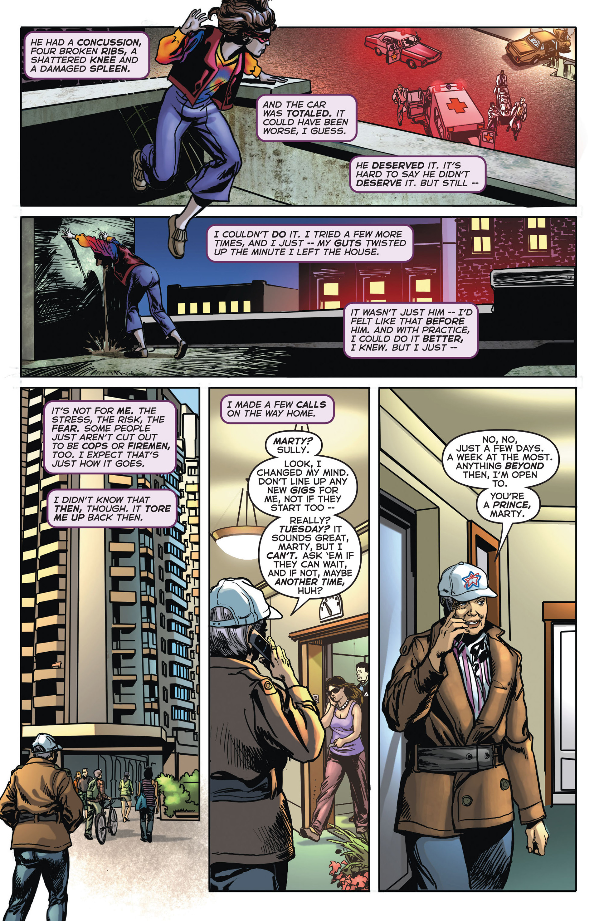 Read online Astro City comic -  Issue #4 - 7