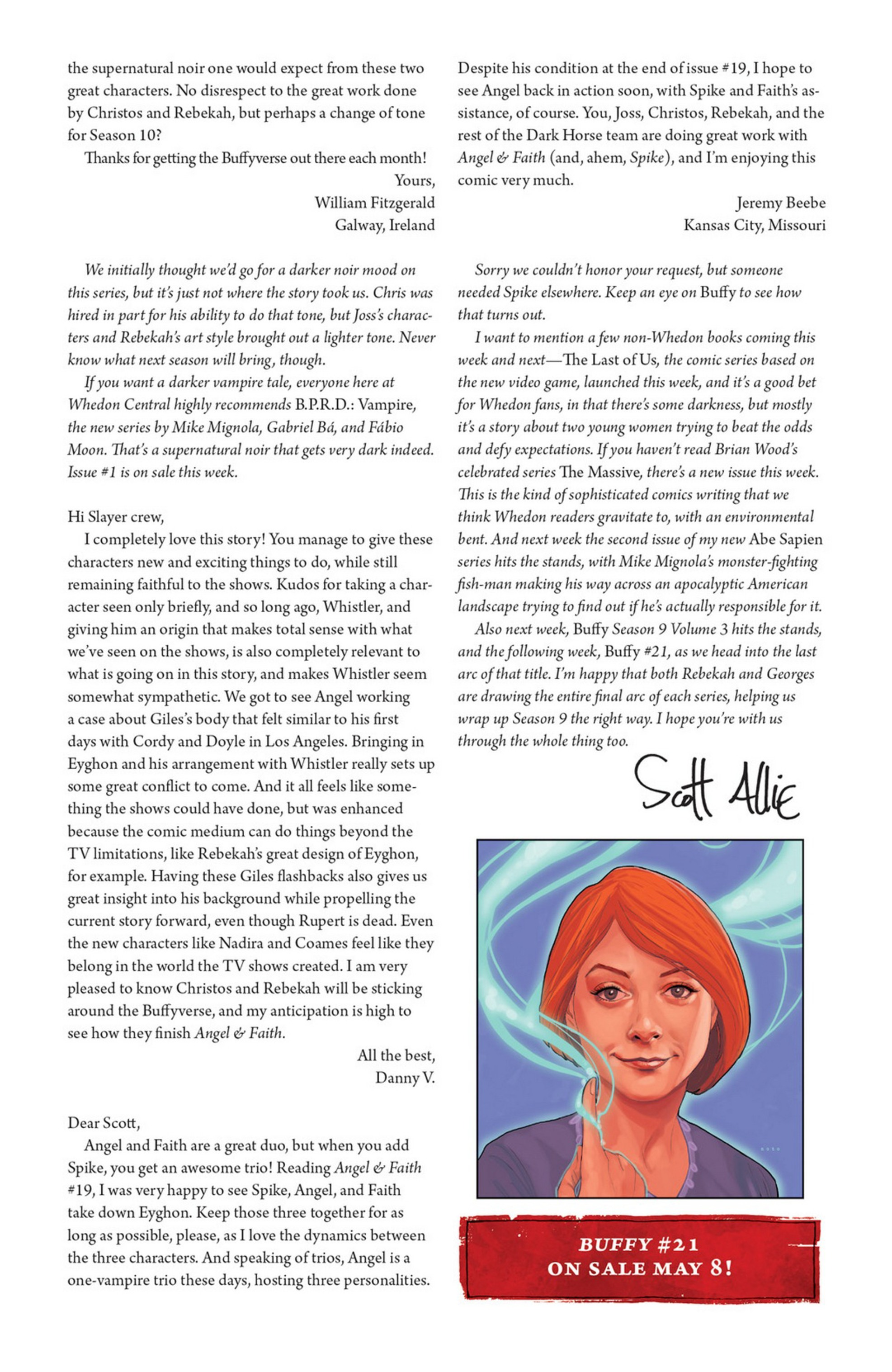 Read online Angel and Faith comic -  Issue #21 - 27