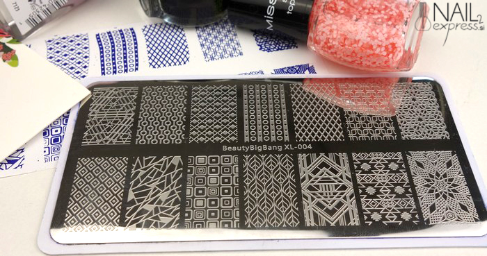 Beauty Big Bang stamping plate XL-004_ocena