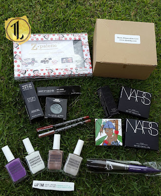 The Makeup Show New York 2016 Haul - www.modenmakeup.com
