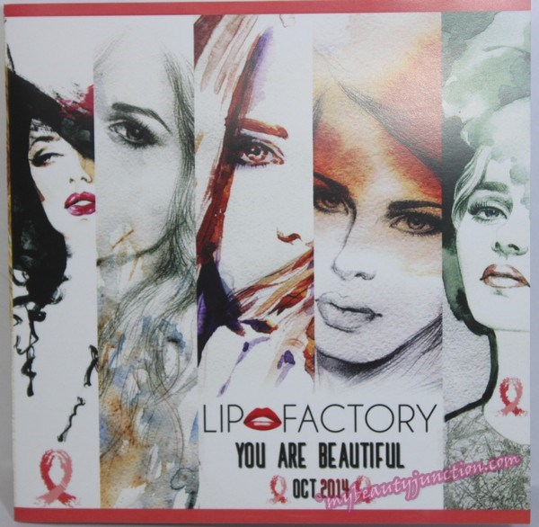 Lip Factory Box October 2014 review, unboxing