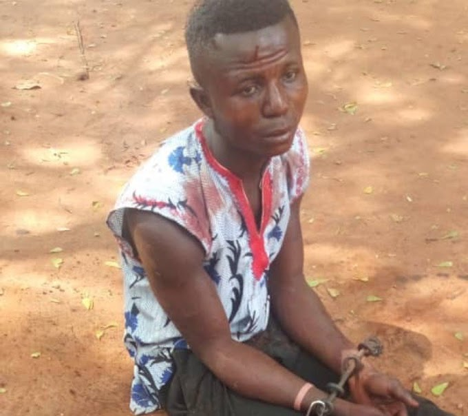 Drama In Awka, As Spiritualist Exposes Teenager In Possession Of Human Parts