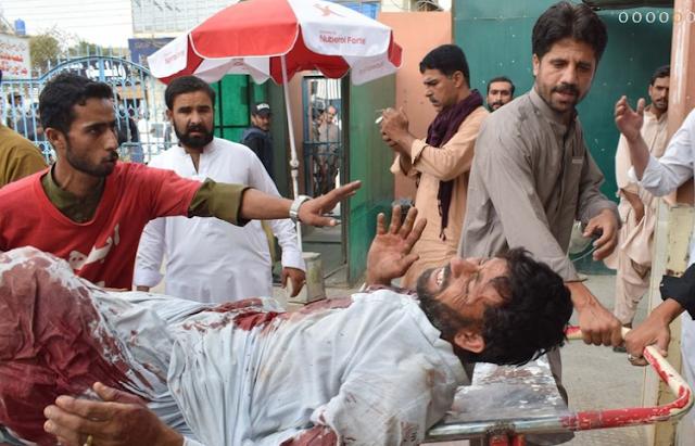 पाकिस्तान में दो रैलियों पर आतंकी हमला